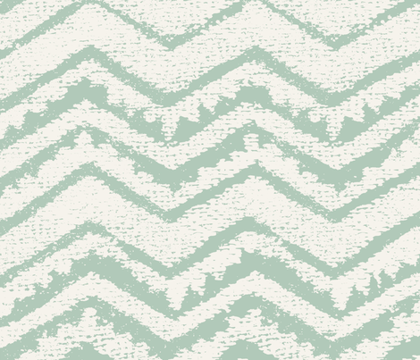 CHEVRON green03 fabric by chicca_besso on Spoonflower - custom fabric