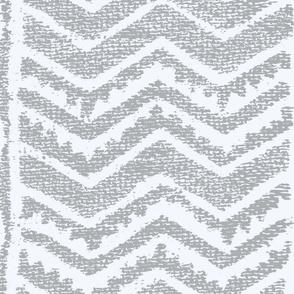 CHEVRON gray neg