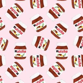 Nutella Scatter - Pink
