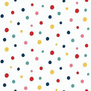 Christmas Cactus Coordinate - Dots