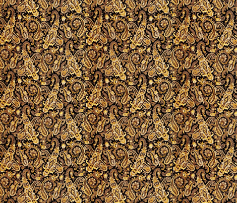 Belle Epoque Black fabric by amyvail on Spoonflower - custom fabric