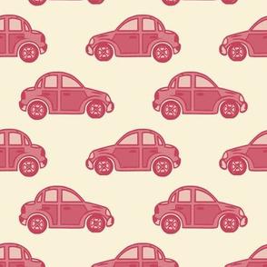 Cars in #c5405b