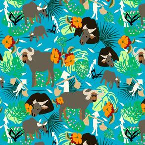 waterbuffalo family2 copy