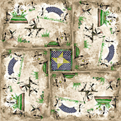 Picnic Ants-navy