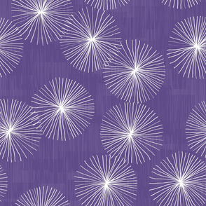 Dandelions Ultraviolet by Friztin