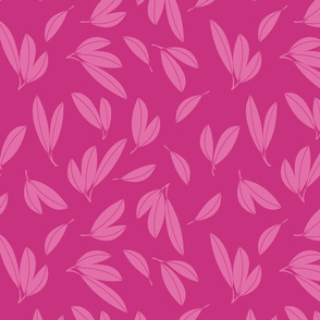 Gum Leaves in Pink
