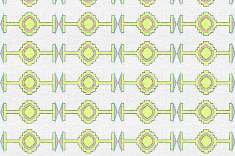 reeve navajo A1 vertical fabric by schatzibrown on Spoonflower - custom fabric