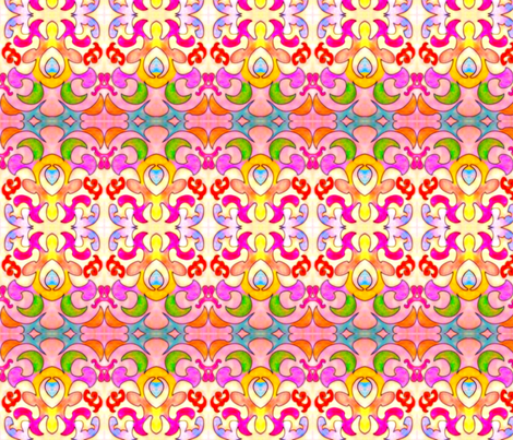 Pink Princess 4 fabric by jmos859 on Spoonflower - custom fabric