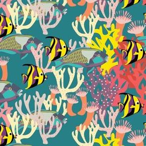 Reef Snapshot dark aqua