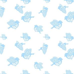 Sparrow pastel blue 02150