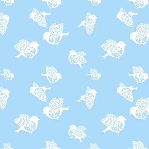 Sparrow pastel blue 150