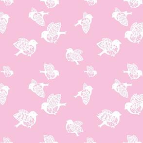 Sparrow pastel pink150