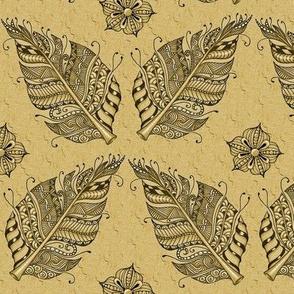 Zen feather tan