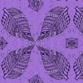 Zen featherpurple