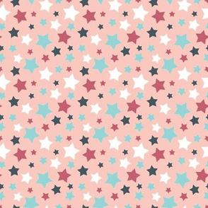 Mellow stars - pink