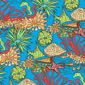 Tropical Reef Life
