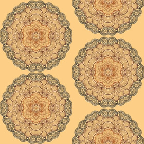 Pastel Paisley Mandala