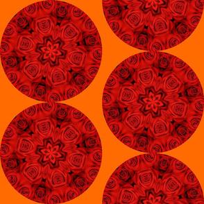 Red Roses Mandala