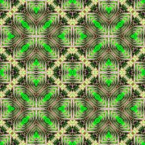 Green Pearled Petals