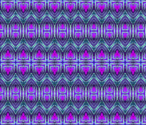 East Indian Stitches in Purple fabric by just_meewowy_design on Spoonflower - custom fabric