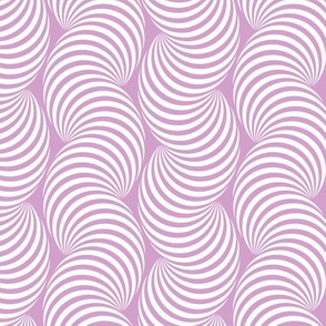 Striped Pipe Optical Illusion (Two-Way) - Orchid