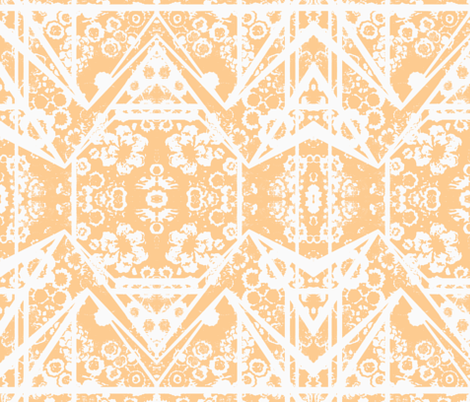3826244_yellowfloral-ch-ch fabric by birdfoot_textiles on Spoonflower - custom fabric