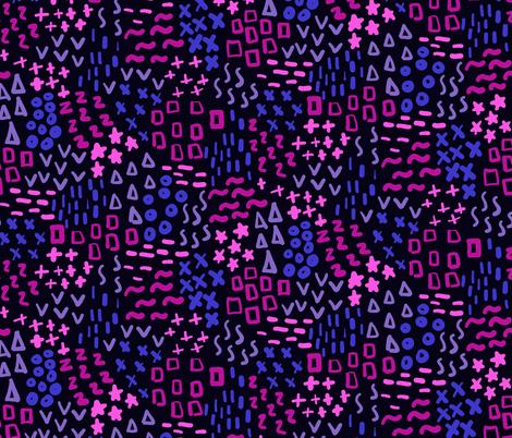 So Simple (Dark Purple) fabric by robyriker on Spoonflower - custom fabric