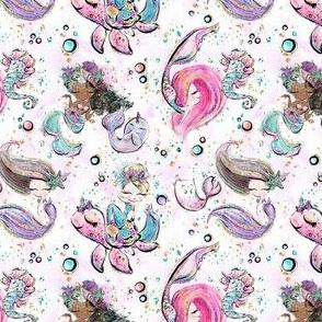 Glitter Mermaid - small scale