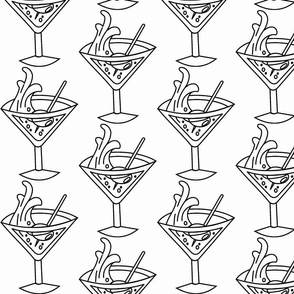 Gin Martini tattoo