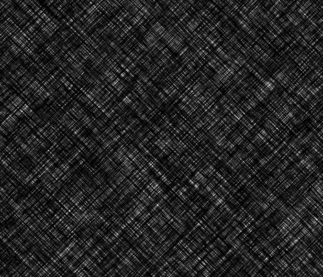Heavy linen black vector fabric by thepoonapple on Spoonflower - custom fabric