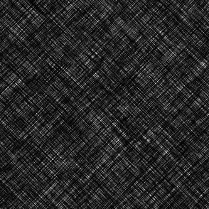 Heavy linen black vector