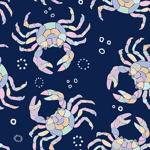 Pastel Crab