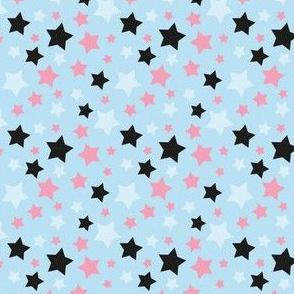 MellowStars - light blue and pink