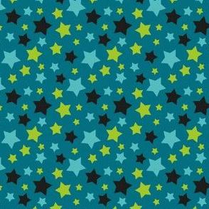 MellowStars - dark blue and green
