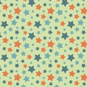 MellowStars - blue and orange