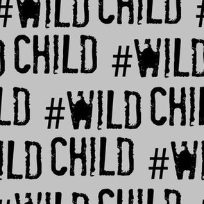 Wild child, hashtag