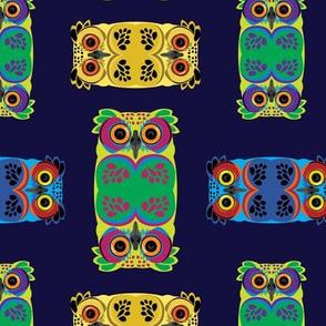 Colourfull Owl