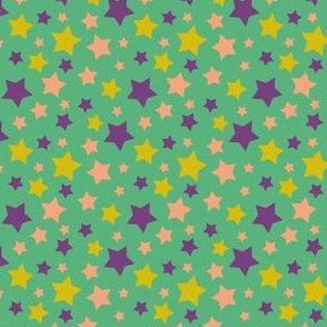 MellowStars - green and purple
