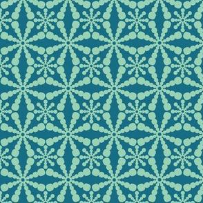 Abstract Circles - Blue