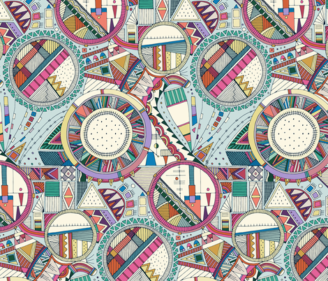 pang fabric by scrummy on Spoonflower - custom fabric