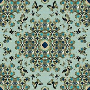 Marrakesh and Butterflies Pattern