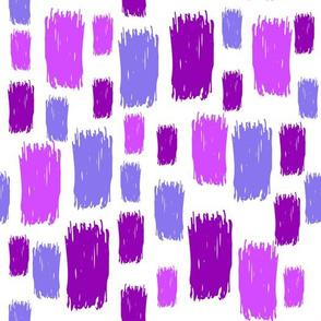 ultra violet spots on white