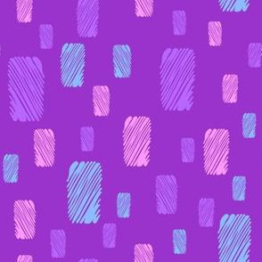 grunge spots on ultra violet