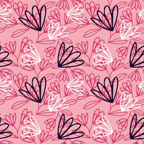 Flower fabric by mia_moon on Spoonflower - custom fabric
