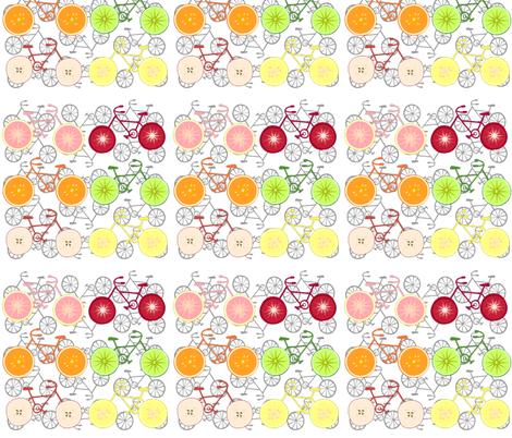 cycle slice-medium fabric by kae50 on Spoonflower - custom fabric