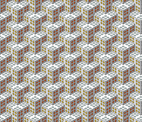 07655169 : © never-ending building blocks fabric by sef on Spoonflower - custom fabric