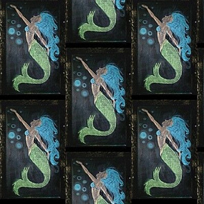 Chalkboard Mermaid