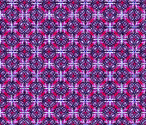 Quilted Purple Diamonds fabric by just_meewowy_design on Spoonflower - custom fabric