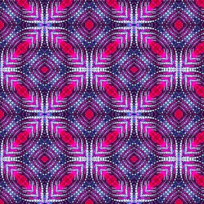 Quilted Purple Diamonds