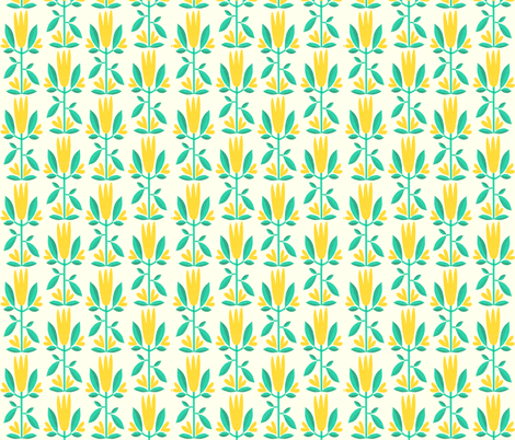 Vintage floral fabric by anda on Spoonflower - custom fabric
